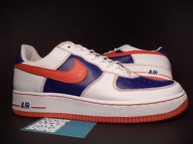 2003 Nike Air Force 1 Low LE REMIX DA KICKZ KICKS WHITE RED INFRARED blueE NEW 13