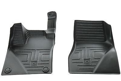 smart fortwo 453 cabrio coupe fu matten satz 2 teilig schwarz original ebay. Black Bedroom Furniture Sets. Home Design Ideas