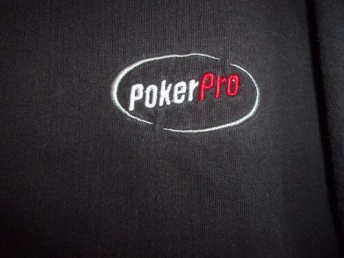 POKER PRO black XL t shirt the best bet in poker