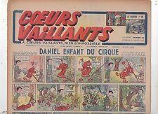 COEURS VAILLANTS 1942 n°29. Hergé. Tintin Le crabe aux Pinces d'Or.