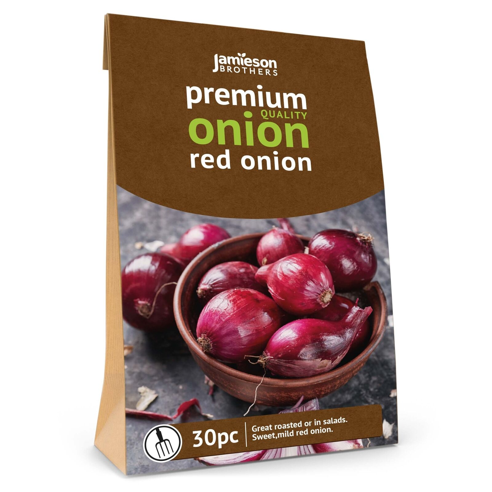 Jamieson Brothers® Red Winter Onion sets - 30pcs (approx. 200g) Bulb Size 14/21