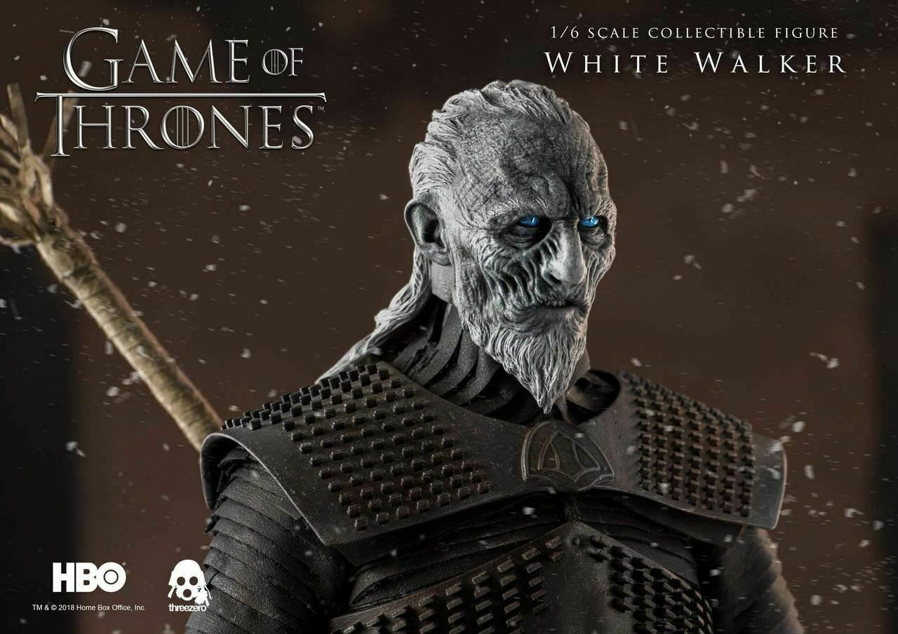 2019 ThreeA 3A Game of Thrones WHITE WALKER 1 1 1 6 12  Figure Collectible New b7340c