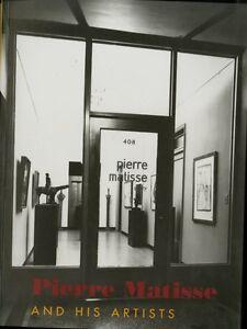 Pierre Matisse: Alberto GIACOMETTI Joan MIRO MATISSE Marc CHAGALL Yves TANGUY HC