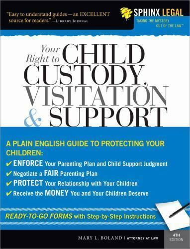 Your Right to Child Custody, Visitation and Support, 4E (Legal-ExLibrary