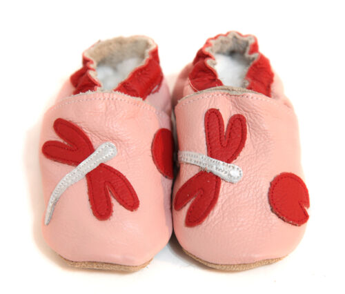 Soft Sole Leather Baby Shoes Kids Toddler Children Kids Size 0-36 Months New