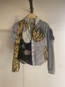 Vivienne Westwood Cocoon Shirt Paradise Print Size 40/8