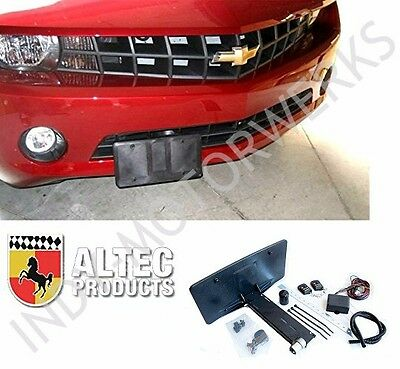 C7 CORVETTE STINGRAY RETRACTABLE FRONT LICENSE PLATE POWER REMOTE Hideway Kit