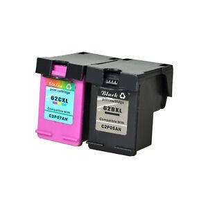 Ink-Cartridge-Color-amp-Black-62XL-Fit-for-HP-ENVY-5640-5540-7640-Officejet-5740
