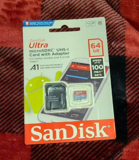 SanDisk Ultra 200GB MicroSDXC Verified for HTC 680 by SanFlash 100MBs A1 U1 C10 Works with SanDisk