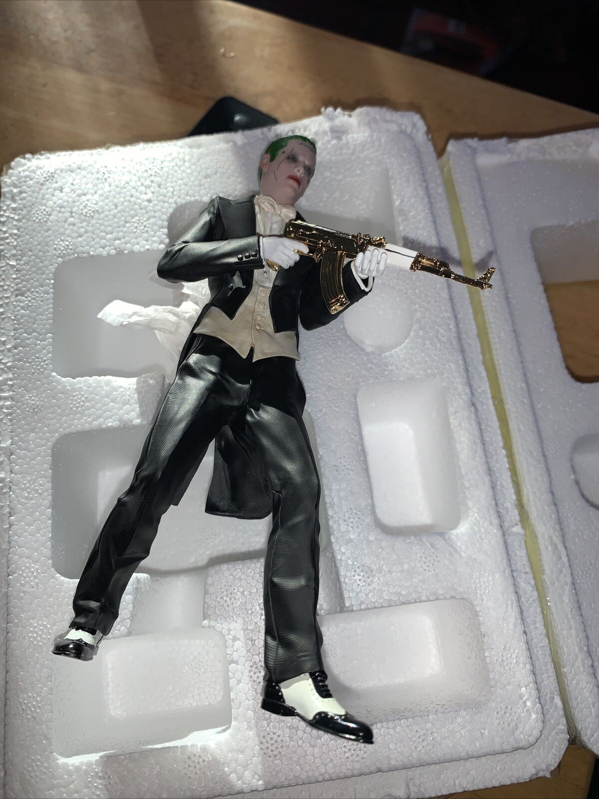 Iron Studios Suicide Squad With Joker Iron Studio Statues New Opened To take Pic on eBay thumbnail