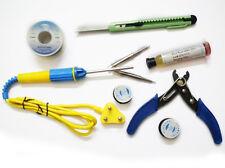 New 8 IN 1 Soldering Iron - 25W , Solder Wire,Paste,Cutter,ETC