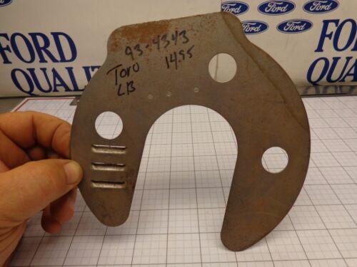 Toro Lawn Boy OEM NOS 93-4343 Muffler Baffle Many 103 207 53CM Silver