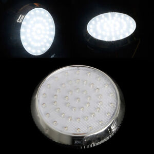 1Pcs White 12V 46-LED Car Vehicle Interior Indoor Roof Ceiling Dome Light Lamp O