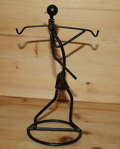 Vintage-hand-made-abstract-artwork-metal-figurine