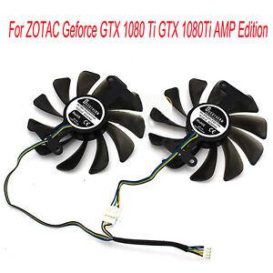 95mm-GPU-Kuehlerluefter-Grafikkarte-fuer-ZOTAC-GeForce-GTX-1080-1070-AMP-Edition