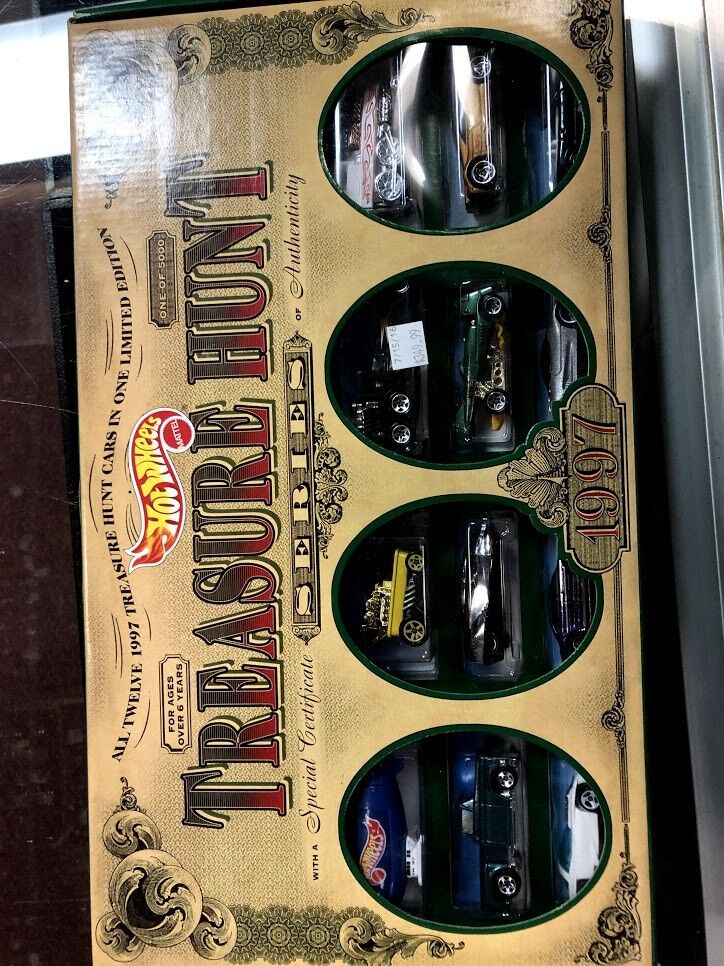 HOT WHEELS JCPENNEY SET TREASURE HUNT 1997 NEW SEALED NEVER OPENED