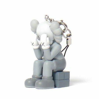 "KAWS Mono Passing Through 2"" Keychain Vinyl Figure by MEDICOM OriginalFake NEW"