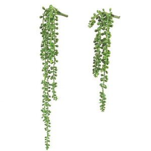 Am-Artificial-Succulent-Ivy-Leaf-Plant-String-of-Pearl-Hanging-Office-Outdoor-N