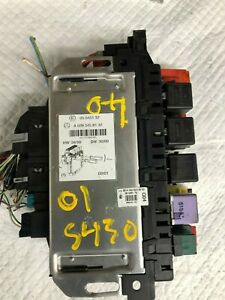 2001 MERCEDES-BENZ S430 REAR RIGHT UNDER SEAT FUSE RELAY ...