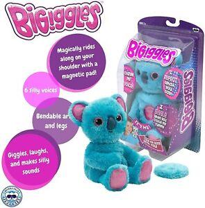BIGiggles-Take-Along-Chat-Back-Plush-Talking-Stuffed-Koala-Damaged-Packaging
