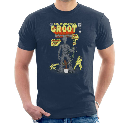 Guardians Of The Galaxy The Incredible Groot Men/'s T-Shirt