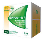 Nicorette 6mg Fruit Fusion Nicotine Gum 210 Pieces