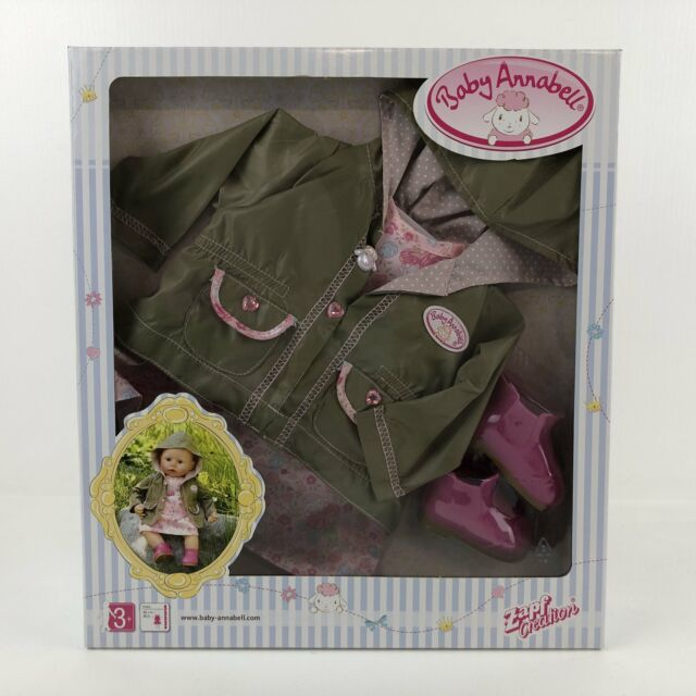 BNIB Baby Annabell Doll 'Deluxe Let's Go Out Clothing Set' Fashion Clothing by Z