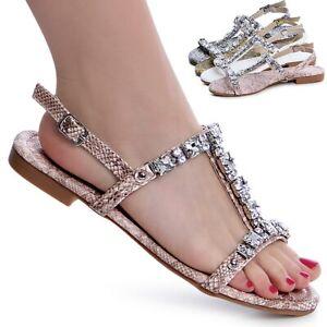 Chaussures Femmes Bride Sandales Paillettes Sandales Snake Simili Boucle Trendy-afficher Le Titre D'origine