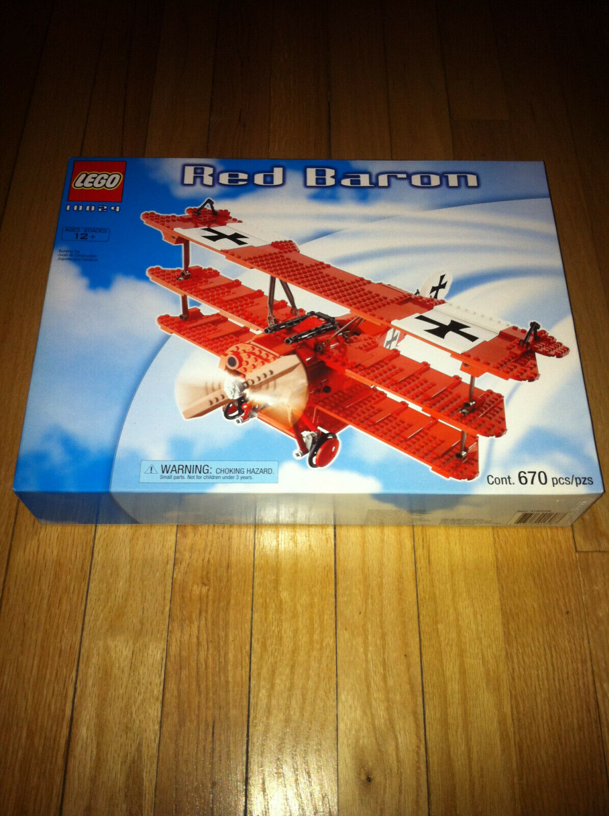 2001 Lego rot Baron  10024 NEVER OPENED - CLEANEST ONE YOU WILL FIND