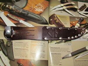 Puma COUTEAU FOURREAU POUR SOLINGEN PUMA trajets couteau avec lames longueur 12 cm
