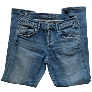 CITIZENS-OF-HUMANITY-JEANS-EMERSON-SLIM-BOYFRIEND-SKINNY-BLUE-DENIM-SIZE-26