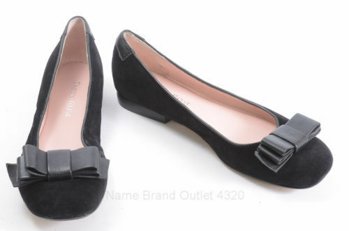 centro commerciale di moda Beautiful Designer TARYN rosa Ladies nero Suede Suede Suede & Leather Ballet Flat scarpe 6 M  il miglior servizio post-vendita