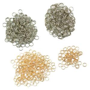 Ensemble-de-800-anneaux-fendus-fabrication-de-bijoux-fournitures-porte-cles
