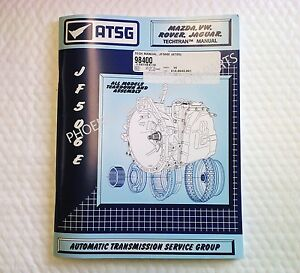 jf506e transmission atsg technical manual for vw jaguar land rover rh ebay com JF506E Diagram JF506E Solenoid Kit