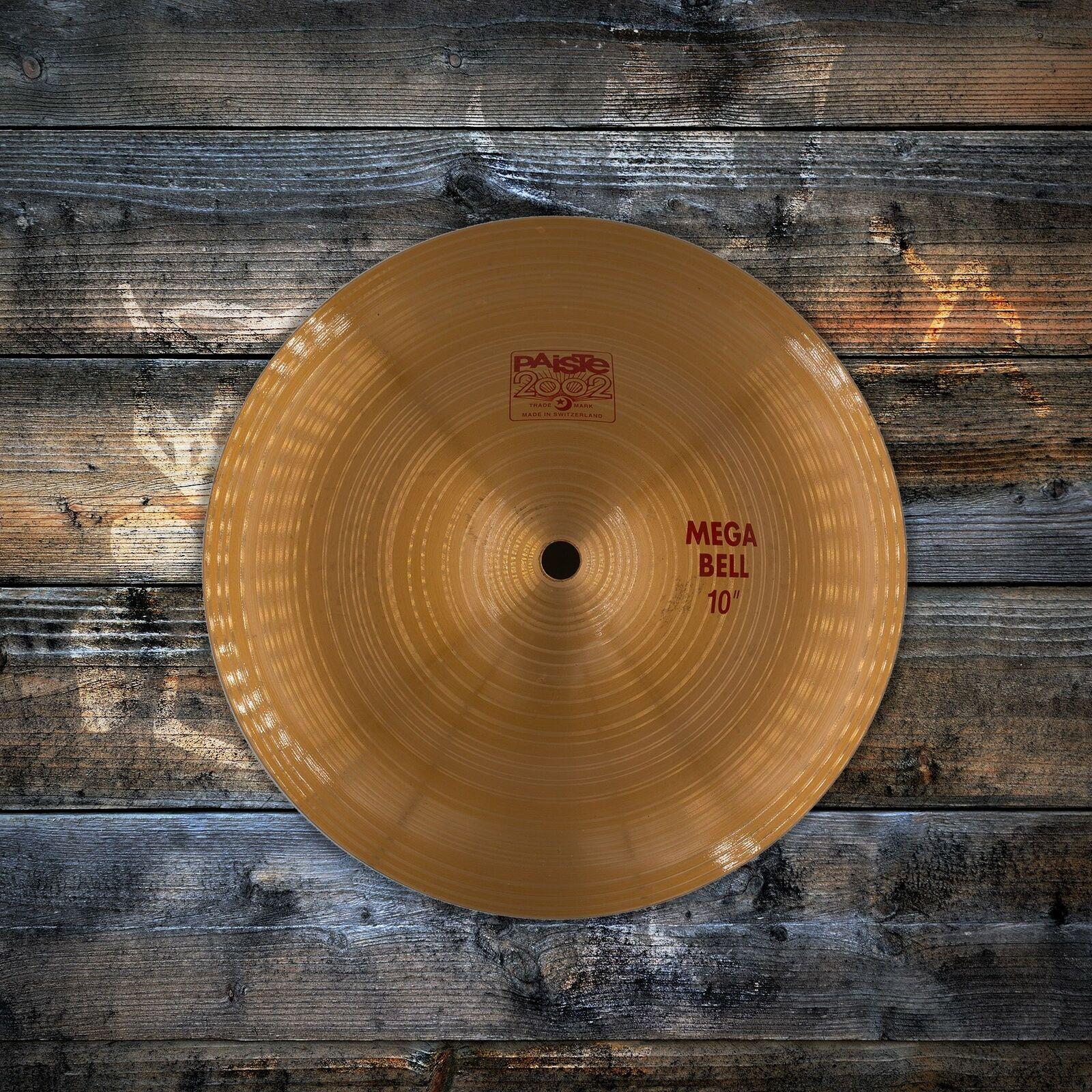 """Paiste 10/"""" 2002 Mega Bell Cymbal P002MEGBEL10"""