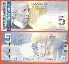 P101Ad  Canada / Kanada  5 Dollar 2006/2010 UNC Präfix HPM