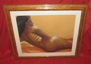 Schoen-Pastell-1960-034-Nackte-Frau-Ansicht-Ruecken-034