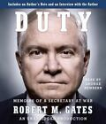 Duty: Memoirs of a Secretary at War by Robert M Gates (CD-Audio, 2014)