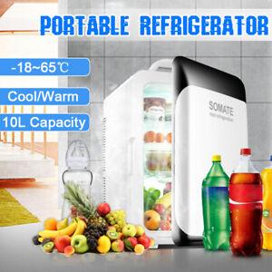 10L-Portable-12V-Mini-Car-Fridge-Camping-Cooler-Warmer-Home-Refrigerator-Freezer