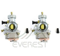 1987-2006 Two Carburetors For Yamaha Banshee Yfz350 Atv Carbs 29mm