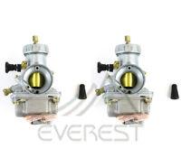 1987-2006 Two Carburetors For Yamaha Banshee Yfz350 Atv Carbs 29mm