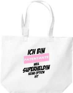 grosse-Einkaufstasche-Ich-bin-Patentante-weil-Superheldin-keine-Option-ist
