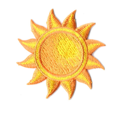 Sun - Hot -Summer - Beach - Tropical -  Embroidered Iorn On Applique Patch