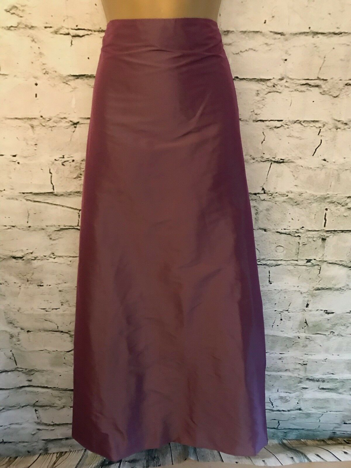 brand new bb774 747dd Maxi Lang Taftkleid Traube damen Monsoon Seidenmix Gr.42 14 ...
