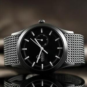 OBAKU-Denmark-Uhr-Herren-Armbanduhr-in-Schwarz-Datum-Edelstahl-V124GBBMB-UVP195