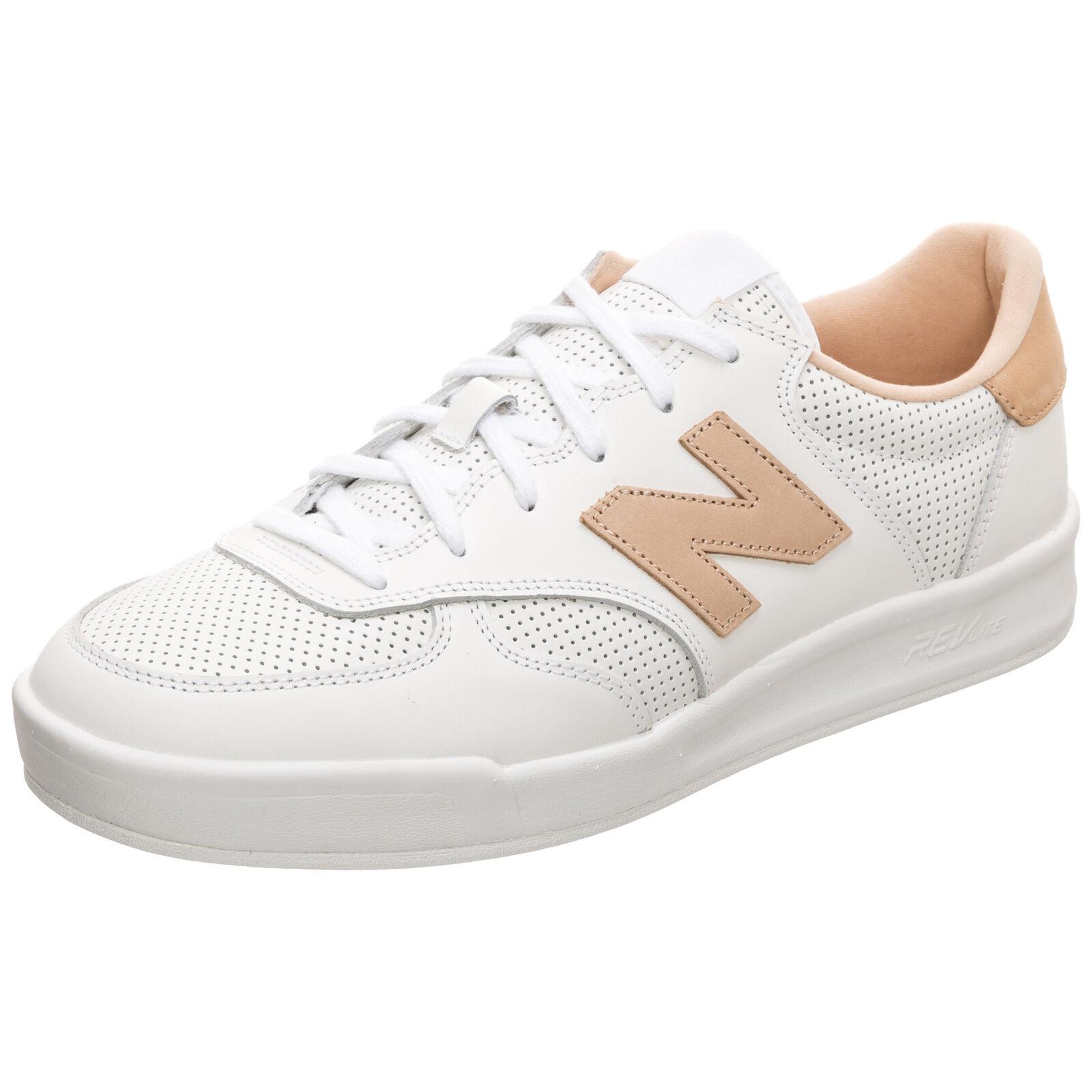 New Balance CRT300-AJ-D Sneaker weiß / hellbraun NEU Schuhe Turnschuhe