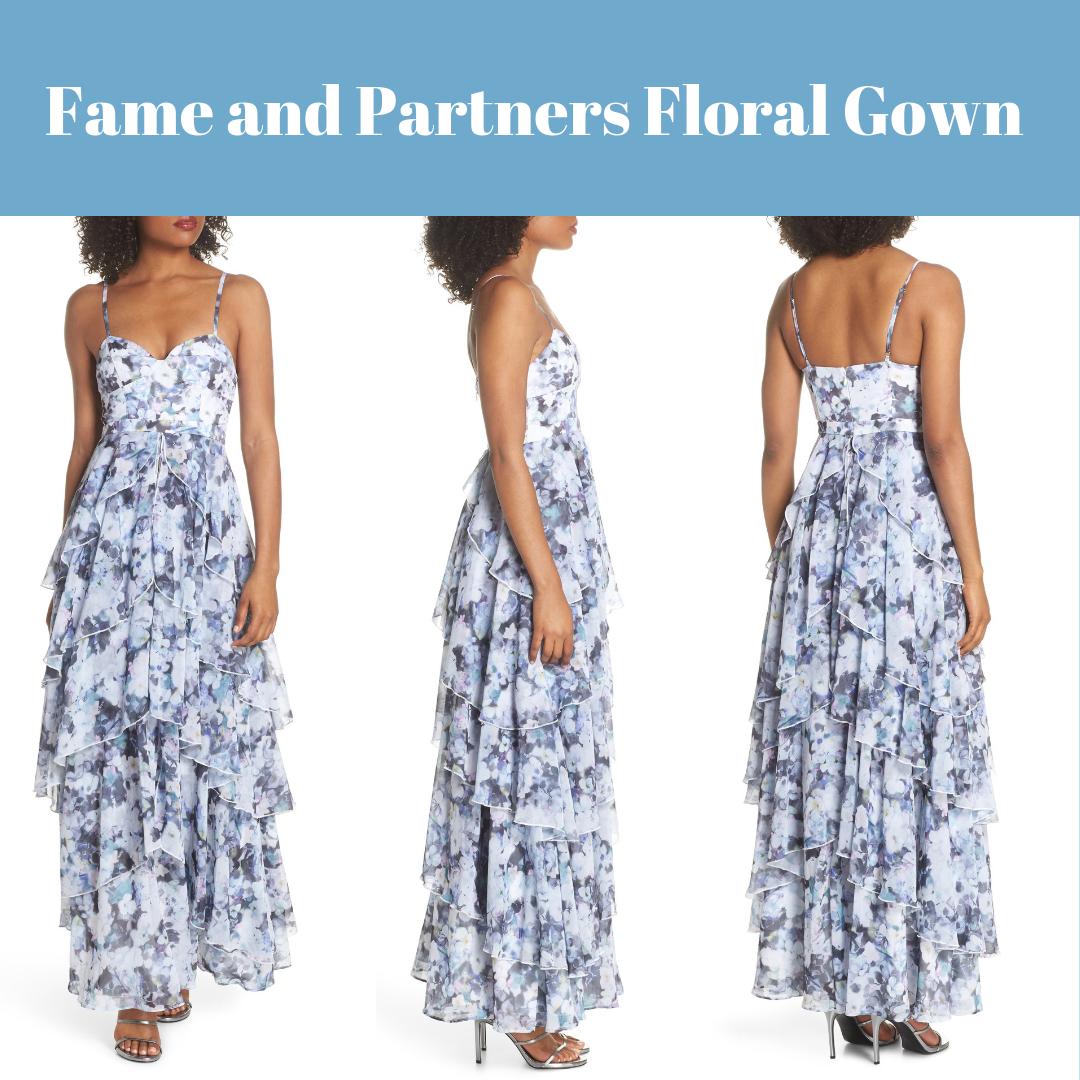 Nuevo  Con Etiquetas  329 fama y socios Catherine Vestido De Estampado Floral [Talla US 8]  E449  hasta un 60% de descuento