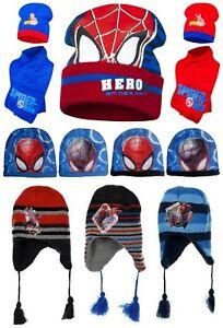 Boys Kids Paw Patrol Winter Hat Glove Set 4 5 6 7 Years Fleece Cold Weather Gear