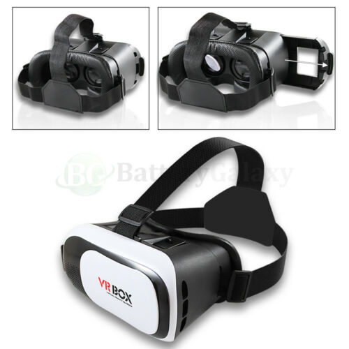 NEW S9 Plus S9+ 3D Virtual Reality VR Glasses Goggles for Samsung Galaxy S9