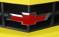 Rallye Red Diy Cut Decal Vinyl Sticker Sheet For Front Rear Chevy Emblem Grille